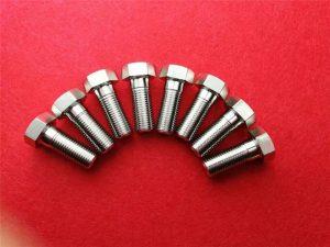 Ruostumaton Stee304-kiinnitysruuvi / kuusiokoloruuvi Ss 304 ristikkopääpultti