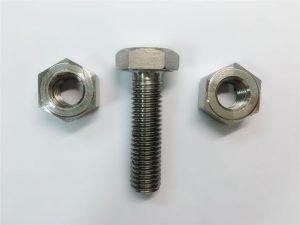 Alloy825 & 800 ruostumattomasta teräksestä valmistetut kuusimutterit din934 fi 2.4858 en1.4558