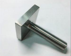 Nickel Cooper monel400 neliöpulttikiinnitys nro4400