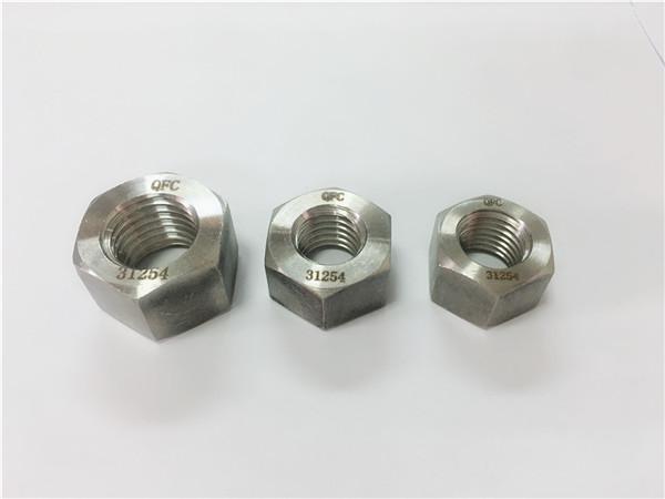 gh2132 / a286 ruostumattomasta teräksestä valmistetut kiinnikkeet, painavat kuusio mutterit m6-m64