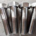 nitronic 50 xm-19 kuusiokoloruuvi din931 uns s20910