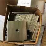 räätälöity super duplex s32205 (f60) ruostumattomasta teräksestä valmistettu neliönmuotoinen aluslevy / kiinnitin