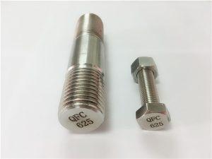 No.71-625 inconel-kiinnikkeet nikkeliin