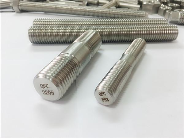 duplex 2205 s32205 2507 s32750 1.4410 korkealaatuinen laitteistokiinnike puinen kierteitetty sauva-ankkuri