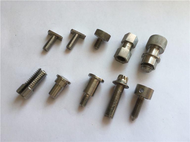 räätälöity korkean tarkkuuden epästandardi ruuvi, ruostumattomasta teräksestä valmistettu CNC-työstöruuvi