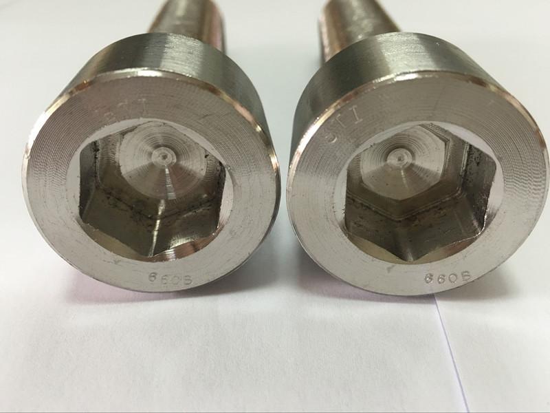 kiinnittimien valmistajat DIN 6912 titaani kuusiokoloruuvin pultti