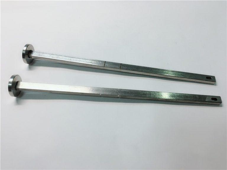 laitteistokiinnikkeiden toimittaja 316 ruostumattomasta teräksestä valmistettu litteä pää, suorakaulainen din603 m4 vaunupultti